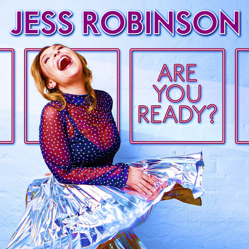 Album cover - Are You Ready - Jess laughing in silver skirt