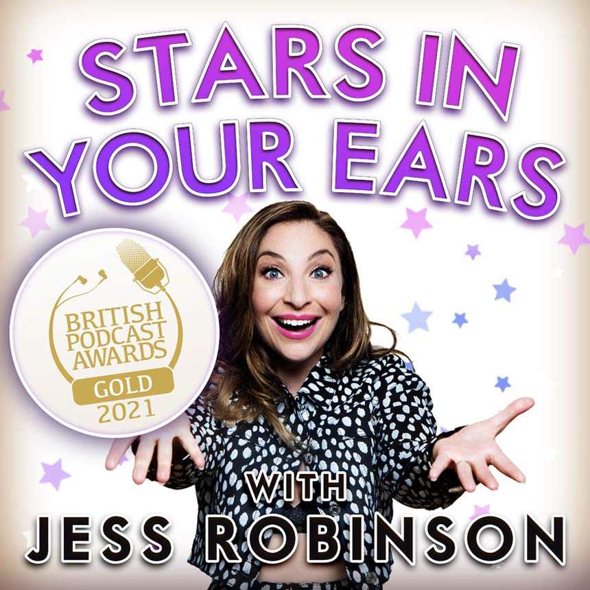 Jess Robinson Stars in Your Ears Gold Award cover